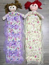 Органайзер подвесной  Кукла ( 5 карманов)