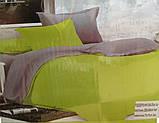 Комплект постельного белья Поплин двухсторонний, фото 2