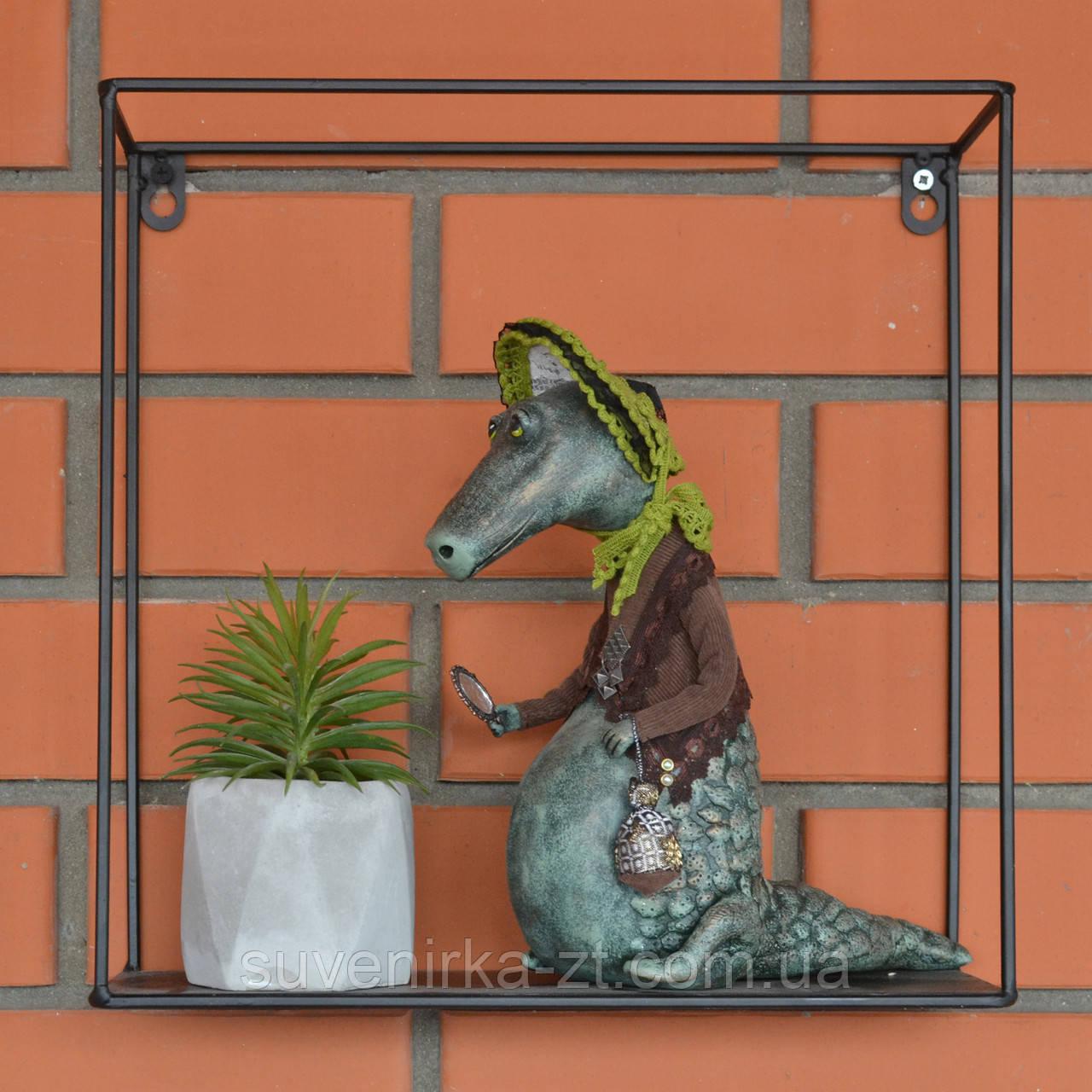 """Авторская, характерная кукла. """"Арина"""" (крокодилица) (А01105)"""