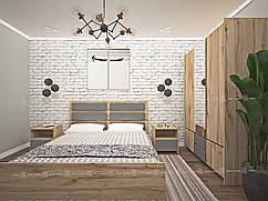 Двуспальная кровать Ессен 2,0х1,6