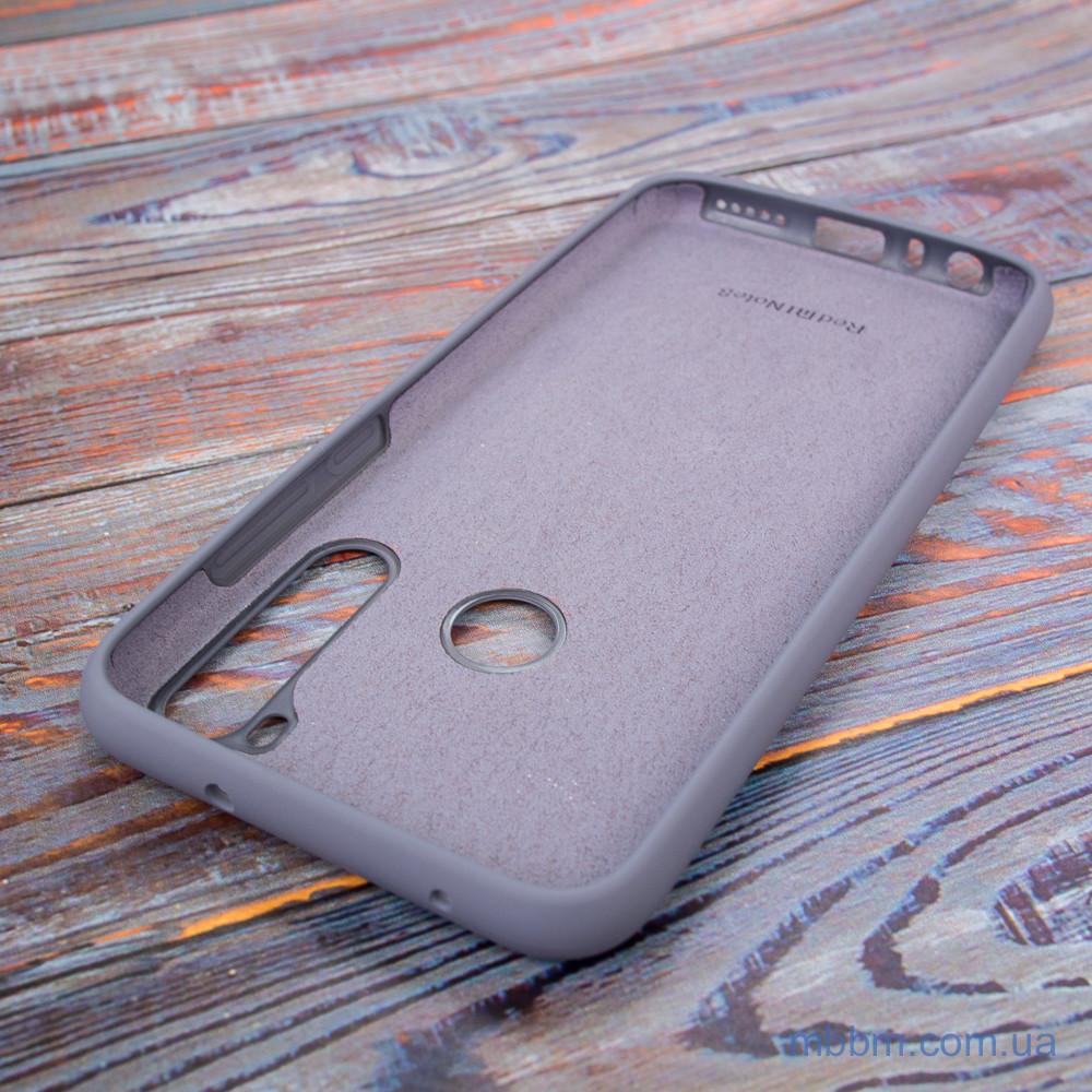 Original Soft Xiaomi Redmi Note 8 Lavender Gray Серый