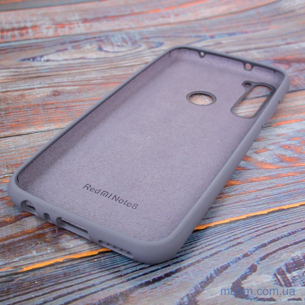 Чехол Original Soft Xiaomi Redmi Note 8 Lavender Gray Серый