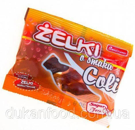 Желейные конфеты со вкусом КОЛЫ без сахара