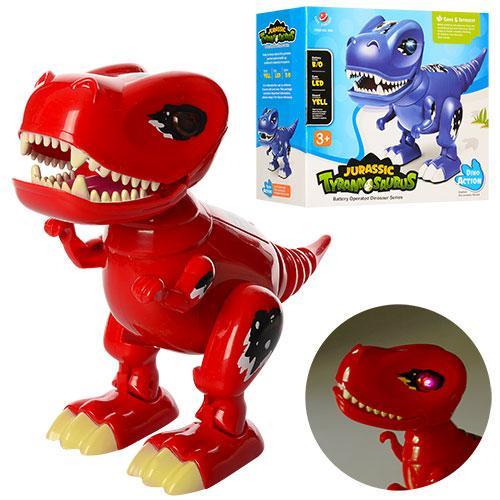 Динозавр Тираннозавр 803 іграшка дитяча 26 см звукові та світлові ефекти