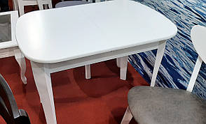 Стол обеденный раскладной Даллас  Модуль Люкс, белый, фото 2