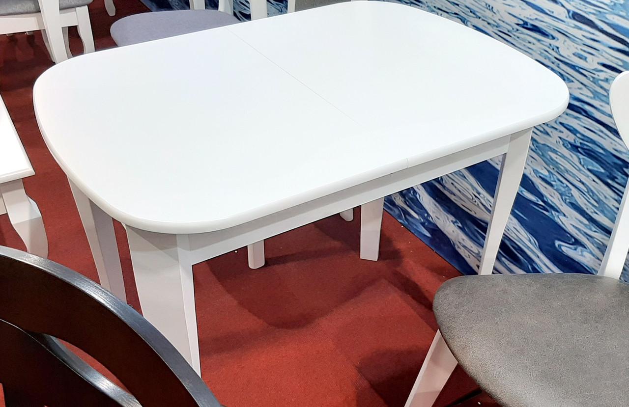 Стол обеденный раскладной Даллас  Модуль Люкс, белый