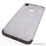 Чохол GKK LikGus 360 * матова Xiaomi Redmi Note 7 Black / Transparent, фото 2