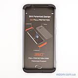 Чохол GKK LikGus 360 * матова Xiaomi Redmi Note 7 Black / Transparent, фото 5