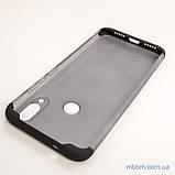 Чохол GKK LikGus 360 * матова Xiaomi Redmi Note 7 Black / Transparent, фото 6