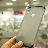 Чохол GKK LikGus 360 * матова Xiaomi Redmi Note 7 Black / Transparent, фото 8