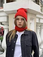 Баф вовняний WHBx4 червоний, фото 1