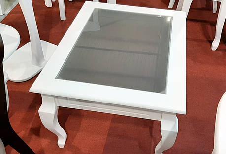 Стол журнальный со стеклянной столешницей Рим-2 Модуль Люкс. Стол журнальный Вега, фото 2