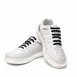Силиконовые шнурки Coolnice В01 Black (n-60), фото 3