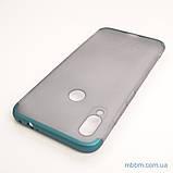 Накладка GKK LikGus 360* матовая Xiaomi Redmi Note 7 Turquoise/Transparent, фото 2