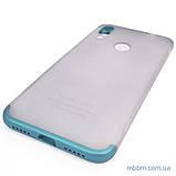 Накладка GKK LikGus 360* матовая Xiaomi Redmi Note 7 Turquoise/Transparent, фото 3