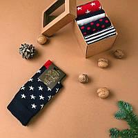 Набір чоловічих шкарпеток з 5 пар  Star Box