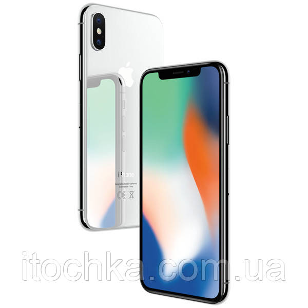 Б/У Iphone X 256Gb Silver (MQAG2)