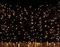 Уличная светодиодная гирлянда Штора Lumion Curtain (Куртейн) 288 led наружная цвет белый теплый