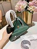 Сумка Майкл Корс, натуральна шкіра, колір зелений, фото 3