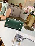 Сумка Майкл Корс, натуральна шкіра, колір зелений, фото 6