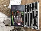 Великий Набір кухонних ножів з керамічним покриттям, фото 5