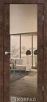 Міжкімнатні двері Korfad Sanremo-01 з дзеркалом