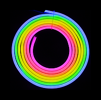 Уличный светодиодный шнур Неон-Флекс Lumion Neon-Flex 15х26 мм 68LED/м.п. наружный цвет RGB