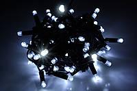 Уличная светодиодная гирлянда нить Lumion String Light (Стринг лайт) 100 led наружная белый холод. с мерцанием