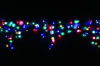 Уличная светодиодная гирлянда бахрома Lumion Icicle Light (Айсикл лайт) 90 led  наружная мультиколор мерцающая