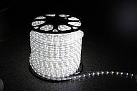 Уличный светодиодная лента Lumion Led Duralight 2-х жильная 240V. d=12мм. 2.77см 36 диодив/м.100м/Цвет белый