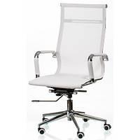Офисное кресло Solano mesh Special4You для руководителя white (E5265)