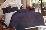 Комплект постільної білизни Поплін двосторонній, фото 2