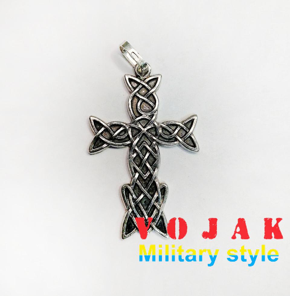 """Кулон серебряный """"Крест"""""""