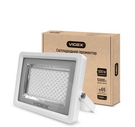 Прожектор светодиодный VIDEX PREMIUM 100W 5000K 220V White (24247)