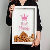 "Копилка для винных пробок ""Wine princess"""