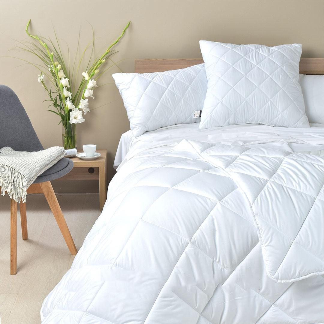 Одеяло Полуторное Зимнее 145х210 см,в тике (Хлопок).Уценка