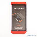 Чохол GKK LikGus 360 * матова Xiaomi Redmi 7A Red / Transparent, фото 6