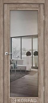 Межкомнатные двери Korfad Sanvito-01 с зеркалом