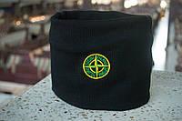 Защитная маска Бафф Stone Island Black