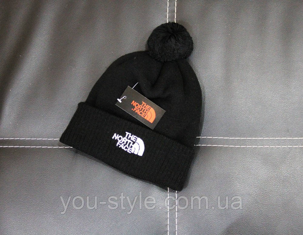 Шапка The North Face bubo black
