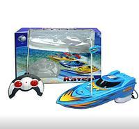 """Радиоуправляемыйкатер""""Ветер""""игрушка на Р/У со светом 978-10/781755R"""