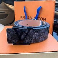 Ремень Louis Vuitton Initiales 40MM Damier Graphite, фото 1
