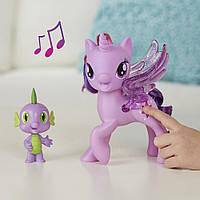 Игровой набор Май Литл Пони Поющая Твайлайт Спаркл и Спайк - My Little Pony Twilight (рус. язык) C0718