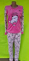 Пижама женская флис-махра