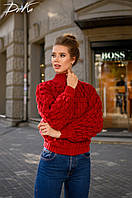 """Стильный женский свитер """" Вязка """" Yulia, фото 1"""