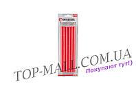 Клеевые стержни Intertool - 11,2 x 200 мм, красные (12 шт.)