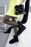 Австралийские угги женские UGG Australia Classic Mini черные. Живое фото. Реплика, фото 4