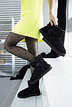 Австралийские угги женские UGG Australia Classic Mini черные. Живое фото. Реплика, фото 5