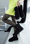 Австралийские угги женские UGG Australia Classic Mini черные. Живое фото. Реплика, фото 6