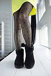 Австралийские угги женские UGG Australia Classic Mini черные. Живое фото. Реплика, фото 7
